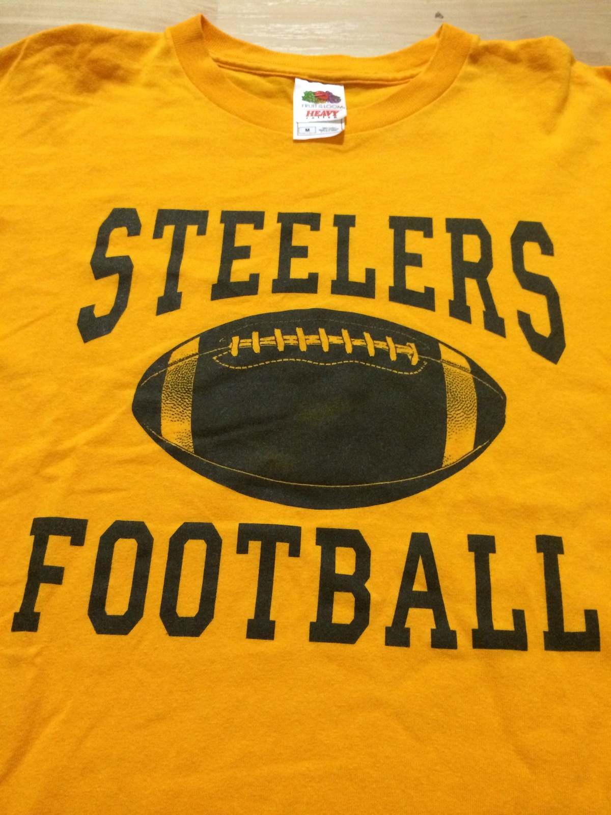 Pittsburgh steelers cool steelers football t shirt sz for Cool football t shirts