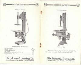 Scarce Vintage Tool Catalog from Johnston & Jennings Cleveland Ohio, Cir... - $16.99