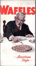 1931 Waffles American Style Recipes from The Rumford Company - $12.80