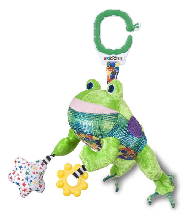 Eric Carle Developmental Frog Toy with Sound by Kids Preferred