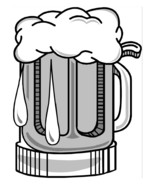 Big Beer Stein-Digital Download-ClipArt-ArtClip-Digital Art     - $4.00