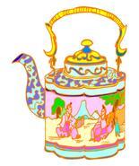 Teapot1-Digital Download-ClipArt-ArtClip-Digital Art     - $4.00