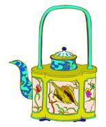 Teapot3-Digital Download-ClipArt-ArtClip-Digital Art     - $4.00