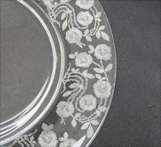Rose Marie Cambridge glass salad plate 7 1/2 inch vintage - $4.90