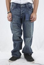 38 NWT Rock & Republic Mens Taylor Boot Flap Pocket Jeans Cyanide Bomb T... - $84.94
