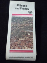 AAA Chicago and Vicinity Map 1980 - $2.99