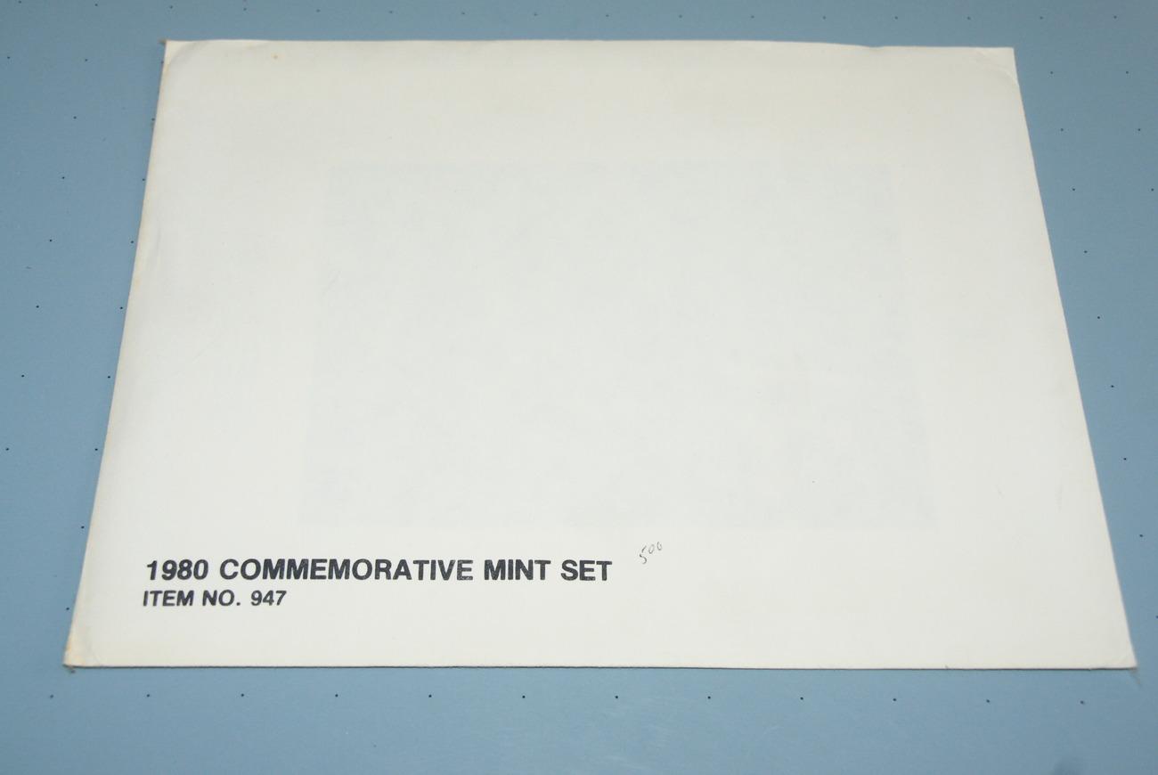 1980 COMMEMORATIVE MINT SET OF STAMPS; #947