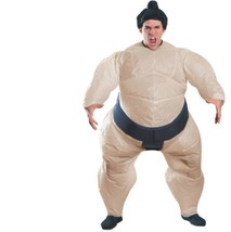 Costume - Adult - Inflatable Sumo Suit - One-Size-Fits-Most - Yokozuna W... - $31.44