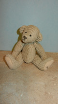 Ganz Cottage Collectibles Teddy Bear Boy Beige Corduroy Carol E. Kirby 6... - $19.99