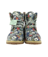 """Custom Timberland """"Floral Escape"""" Premium Style Fabric, Size 10 Women - $171.52"""