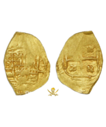 "COLOMBIA 2 ESCUDOS 1701-10 ""1715 FLEET SHIPWRECK"" RAW PIRATE GOLD COINS ... - $3,295.00"
