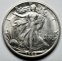 1944D Walking Liberty Half Dollar 90% Silver Coin Lot# A 219