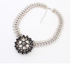 Luxury Style Women Accessories Necklace Black  - $29.99