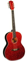 Sparkle Glitter Acoustic Guitar and Taylor Swift Chord Book - $199.00