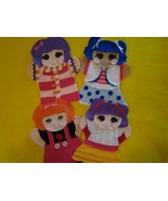 Lalaloopsy felt puppets - $23.99