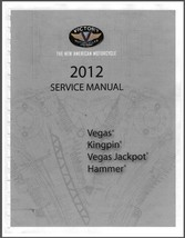 2012 Victory Vegas Kingpin Hammer Motorcycle Service Repair Workshop Man... - $12.00