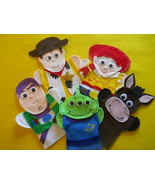 Toy Story- felt hand puppets - $24.99