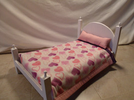 """4 Poster Doll bed for 18"""" dolls - $50.00"""