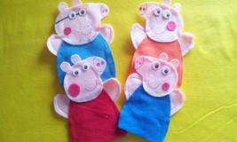 Peppa Pig Felt Hand Puppets - $19.99