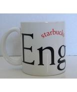 STARBUCKS Big Coffee Mug Cup ENGLAND 2002 Shakespeare Collector Series - $18.99