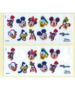 Disney Characters Stickers Set of Three (3) sheets Near Mint - $14.99