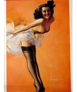 8-1/2 X 11 Pin-up Girl Poster Rolf Armstrong Beautiful Latino Lady - $9.89