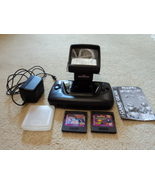 Sega Game Gear System Model 2110 w/Magnifer and Two Games - $55.00