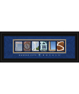 Kansas City Royals Officially Licensed Framed Letter Art - $39.95