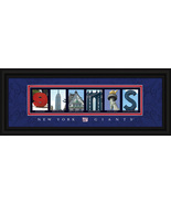 New York Giants Officially Licensed Framed Letter Art - $39.95