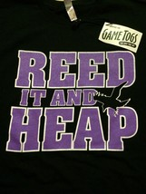 """Baltimore Ravens """" New With Tags """" Reed It And Heap Cool T-Shirt Sz 2XL  - $15.98"""