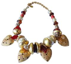 Ferrandis Heart Charm Runway Couture Necklace - €444,23 EUR