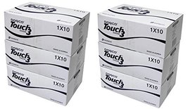 Touch3 Men's Disposable Razor Shaver Pack of 6(60Pcs) Individual Packaging Tripl