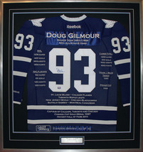 Doug Gilmour Career Jersey #193 of 193 - Autographed - Toronto Maple Leafs - $2,000.00