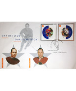Day of Issue Stamps 2002 Glenn Hall and Howie Morenz - €33,21 EUR