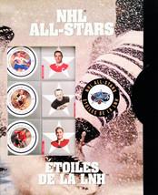 Canada Post 2001 NHL Alumni All-Star Stamp Set - $39.00