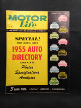 Motor Life  Magazine May 1955 New Model Issue - $15.50