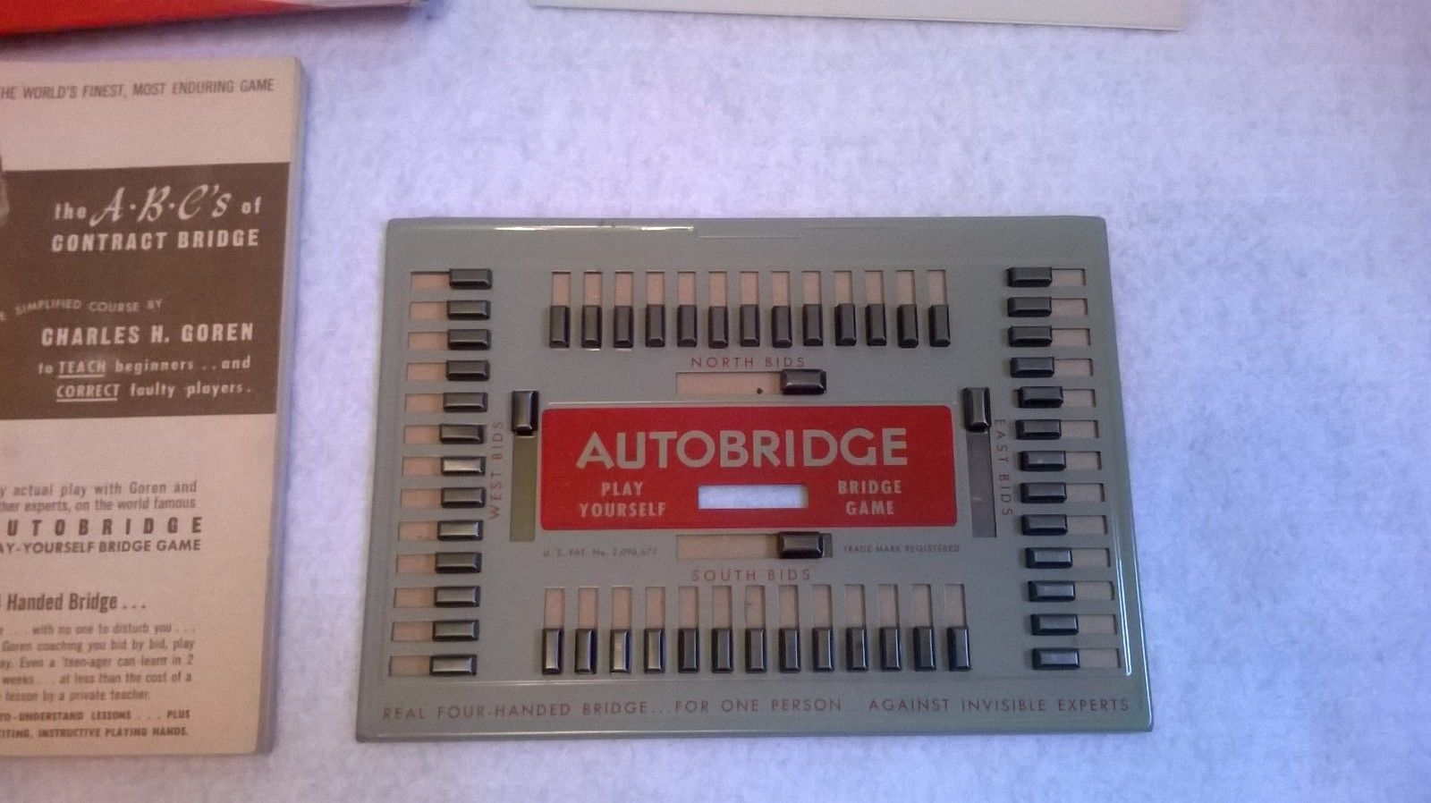 Vintage Charles Goren Auto Bridge Beginners Set 1950
