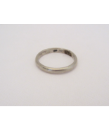 Vintage Sterling Silver Band Ring Size 12.5 - $18.00