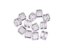 4pcs - 6mm Swarovski Crystal Cube Beads #5600 - You Choose The Color image 3