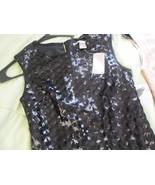 HOT LOVE21 AMAZING BLACK SWIRLS/CIRCLES SHIMMERING DRESS  - XS - $14.85