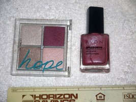 L'Oreal Infinite Eyeshadow*Celebration of Hope* LIMITED EDIT. + Avon Nail Polish - $9.41