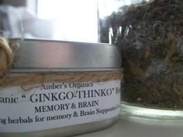 "Organic ""GINKGO- THINKO: Tea For Brain & Memory. - $5.93"