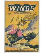 Golden Age Wings Comics #72 Captain Wings vs. Colonel Kamikaze Phantom E... - $38.40