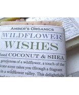 Organic Wildflower Wishes. Hydrating Soap - Peace, Love, Suds! - $3.47