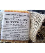 Organic Honey Almond Butter Bar - Olive & Shea - $3.47