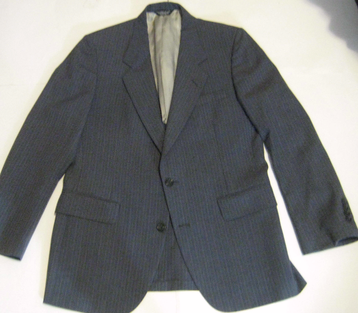 22f28443e7e NINO CERRUTI 42R 100% Wool Gray Stripe and 50 similar items