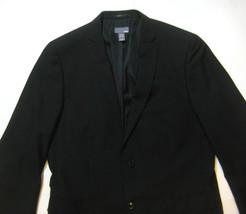 H&M Modern Slim Athletic Fit  44R Black  Blazer Sports Coat Jacket Narrow Lapel - $69.99