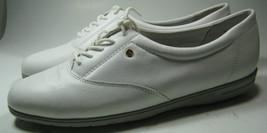 "EASY SPIRIT ""Anti-Gravity"" 9B Rich White Leather Walking Shoes Comfortable - $64.99"