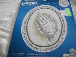 Praying Hands Cross Stitch Kit - $12.00