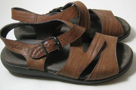 "MEPHISTO Eu 36 US 6 Brown Tan Sandals ""4X Shock Absorber"" - $195.99"